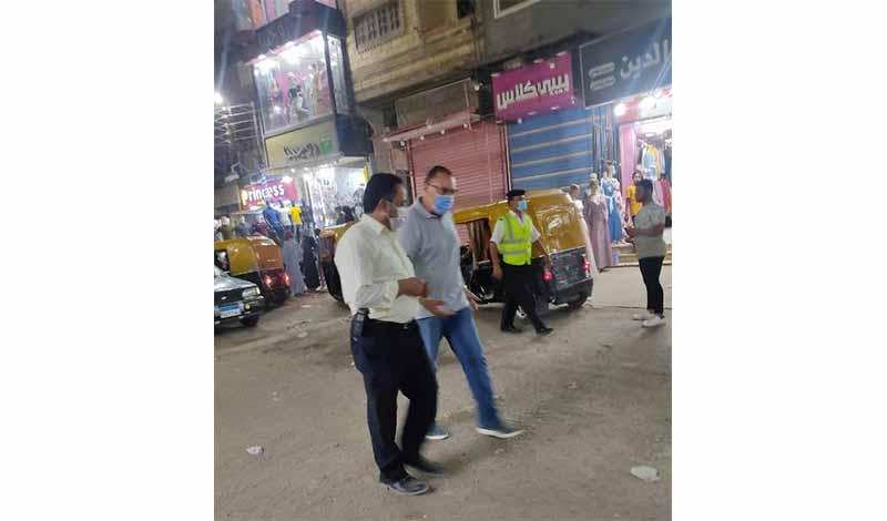الشرقية في جولة ليلية مفاجئة بشوارع مدينة أبوحماد 4