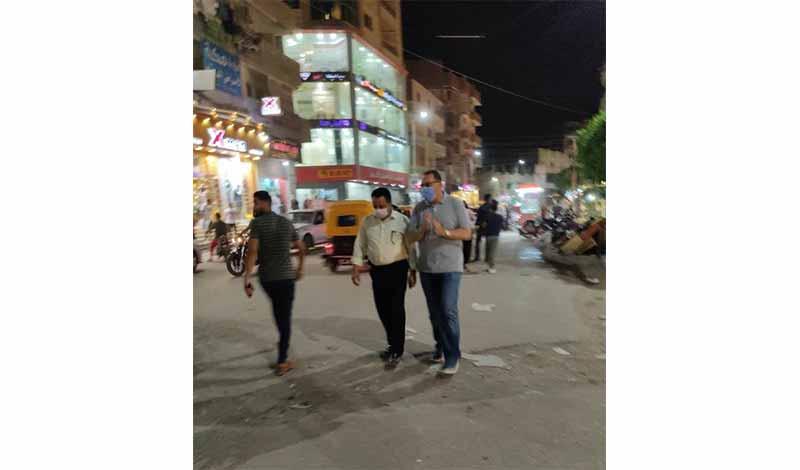 الشرقية في جولة ليلية مفاجئة بشوارع مدينة أبوحماد 6