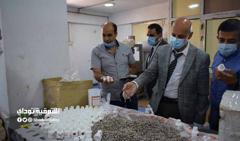 مخالفات كارثية في مصنع أدوية