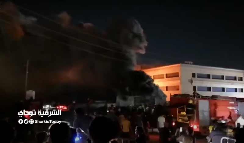 حريق بمستشفى للعزل في العراق