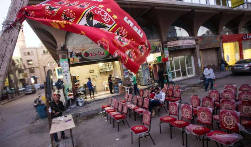 غلق المقاهي أثناء مباراة الأهلي