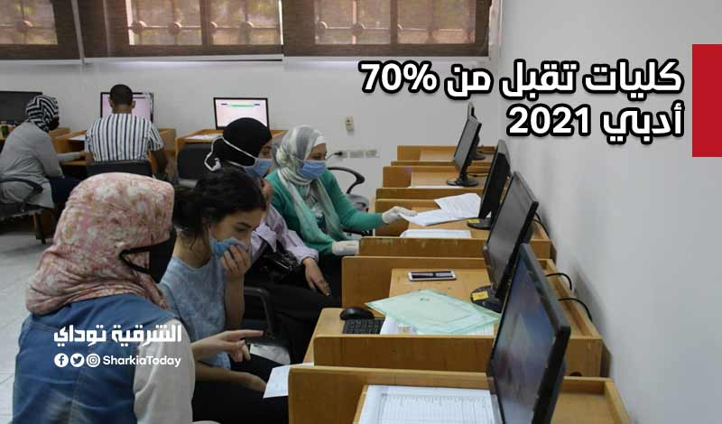 كليات تقبل من 70 أدبي 2021