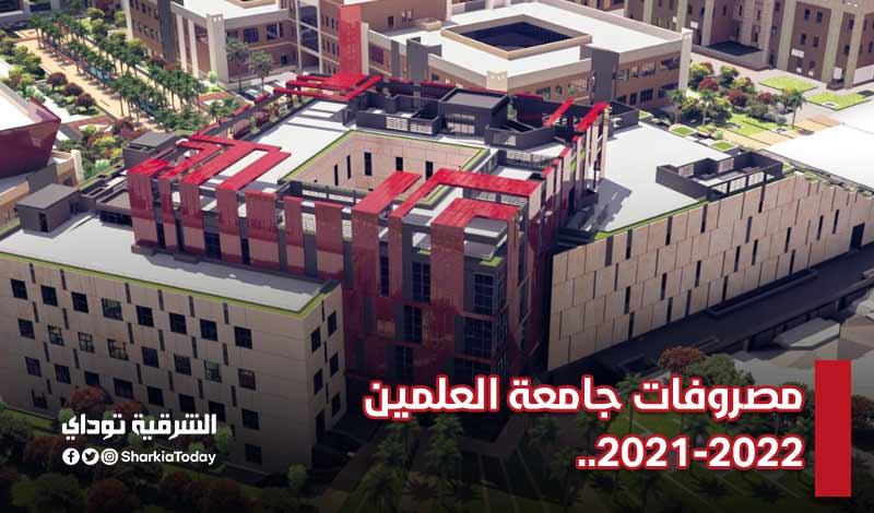 مصروفات جامعة العلمين 2021-2022..