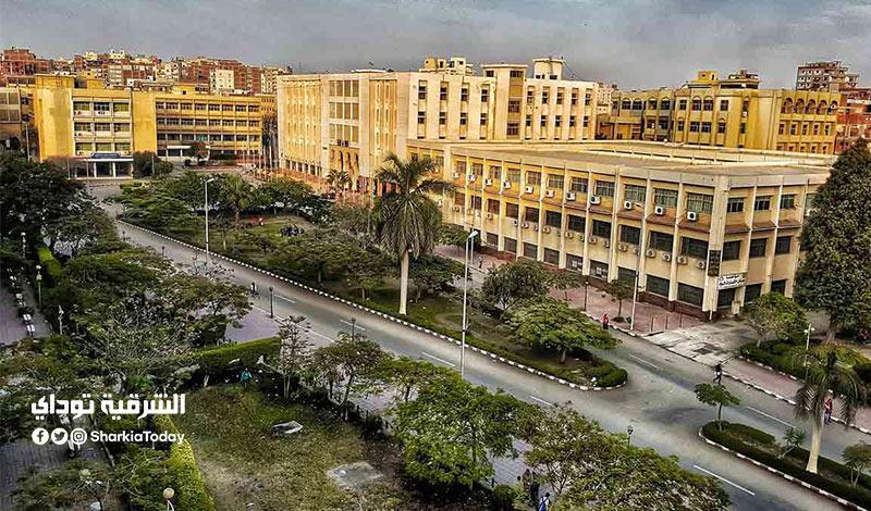 المدينة الجامعية لجامعة الزقازيق 2021