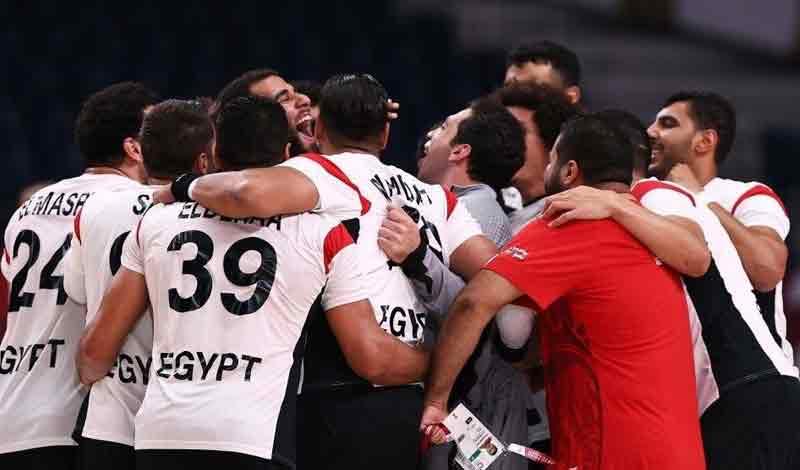 منتخب مصر لليد لنصف نهائي الأولمبياد