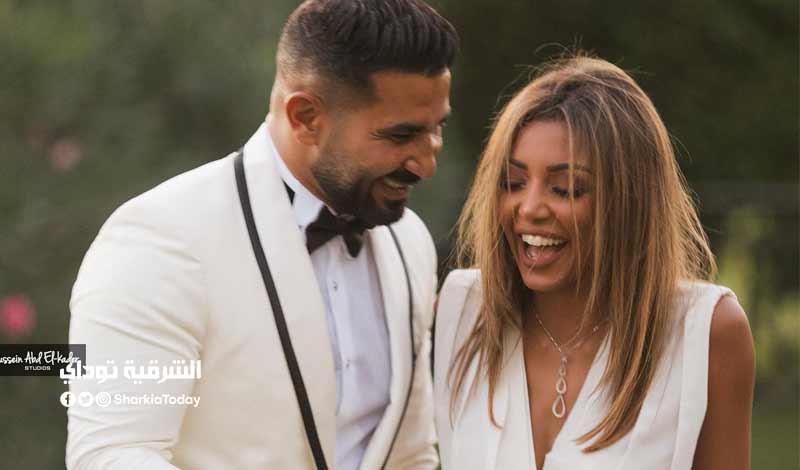 زوجة أحمد سعد الجديدة