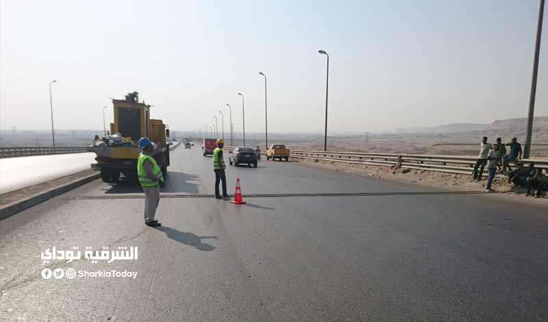 حقيقة غلق طريق القاهرة الإسكندرية الصحراوي