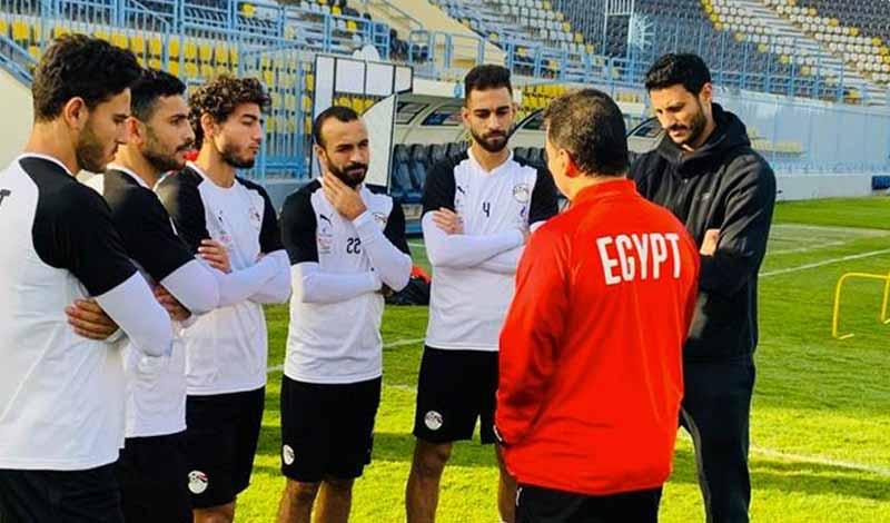مباراة منتخب مصر وأنجولا