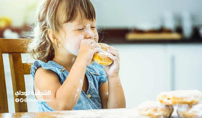 كمية السكر المسموحة للطفل يوميا