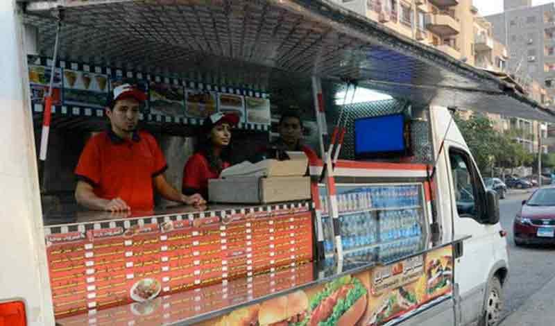 ترخيص عربات الطعام المتنقلة