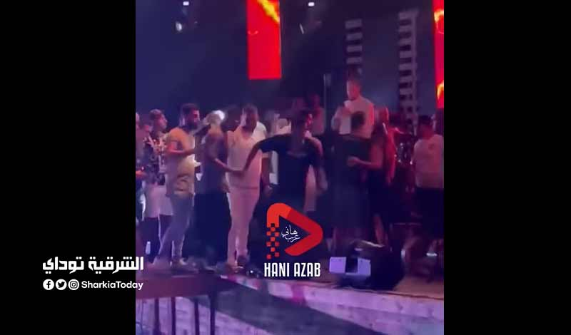 مشاجرة حسن شاكوش ورضا البحراوي
