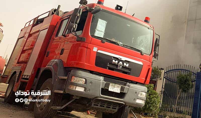 حريق مصنعي العاشر من رمضان