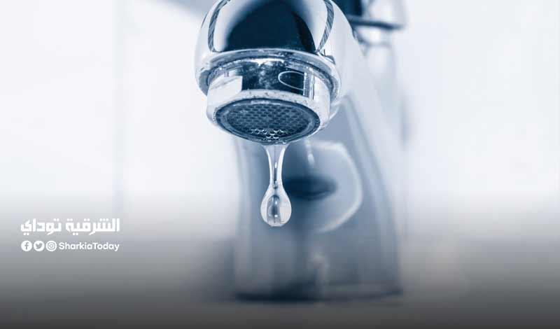 قطع المياه عن 4 مناطق بالشرقية
