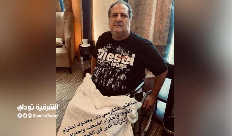 تطورات الحالة الصحية لـ خالد الصاوي
